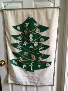 Advent Devotional Tree ornaments 1